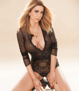 24hr Escort Grace Sitting On The Floor In Her Black Lace Outfit